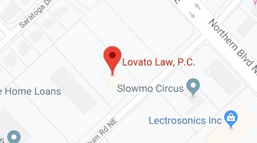 map for Lovato Law P.C. office